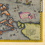 Abraham Ortelius – East Indies, 1570, Antique world maps HQ