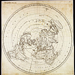 Antique world maps HQ - Jean-Dominique Cassini - Land Planisphere Showing Longitude, 1696