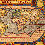 Abraham Ortelius – Map of the world, 1601, Antique world maps HQ