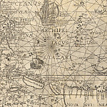 Jan van Linschoten - Spice Islands, 1598, Antique world maps HQ