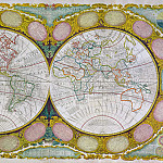 Robert Wilkinson - A Map of the World, Antique world maps HQ