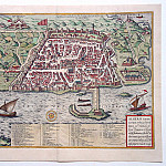 Georg Braun and Frans Hogenberg – Algiers, 1574, Antique world maps HQ