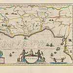 Jan Willemsz. Blaeu – Guinea, 1640, Antique world maps HQ