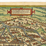 Georg Braun and Frans Hogenberg - Alexandria, 1575, Antique world maps HQ