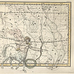 Sagittarius, Corona Australis, Antique world maps HQ