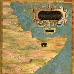 Antique world maps HQ - Map of the Horn of Africa