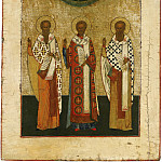 Orthodox Icons - Святые Василий Великий, Иоанн Златоуст и Григорий Богослов