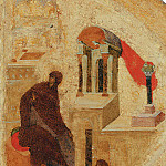 Orthodox Icons - Andrei Rublev (1360-е - 1430) -- Царские врата иконостаса