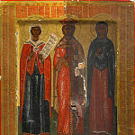 Orthodox Icons - Святые Параскева, Екатерина и Анастасия