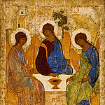 Orthodox Icons - Andrei Rublev (1360's - 1430) -- Trinity