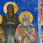 Orthodox Icons - Фреска в Преображенском храме монастыря Святого Евфимия, Суздаль