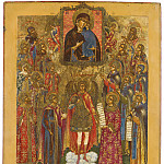 Архангел Михаил с собором святых и иконой Богоматери Толгской, Orthodox Icons