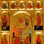 Orthodox Icons - Введение Пресвятой Богородицы во храм