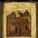 Orthodox Icons - Триптих 2. Введение Богородицы во храм