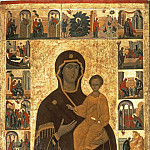 Orthodox Icons - Икона Божией Матери Смоленская с житием Богородицы