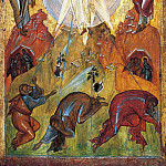 Orthodox Icons - Feofan Grek (ок.1340 - ок.1410) -- Преображение Господне