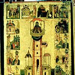 Святой Симеон Столпник с житием, Orthodox Icons