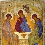 Orthodox Icons - Andrei Rublev (1360-е - 1430) -- Троица