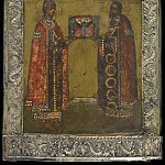 Orthodox Icons - Святые Царевич Дмитрий и благоверный князь Роман Угличский