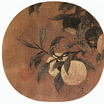 Chinese artists of the Middle Ages - Ma Lin [马麟 - 橘绿图]