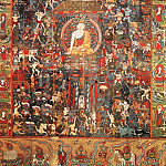 "Chinese artists of the Middle Ages - Unknown [佚名 - 佛传""降魔成道""图]"