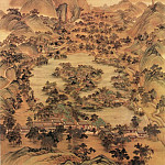 Chinese artists of the Middle Ages - Leng Mei [冷枚 - 避暑山庄图]