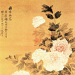 Chinese artists of the Middle Ages - Yun Shouping [恽寿平 - 国香春霁图]