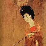 Chinese artists of the Middle Ages - Zhou Fang [周防 - 簪花仕女图]