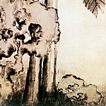 Chinese artists of the Middle Ages - Min Zhen [闵贞 - 蕉石图]