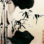 Chinese artists of the Middle Ages - Xu Wei [徐渭 - 竹石图]