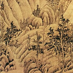 Chinese artists of the Middle Ages - Zhang Xue Ceng [张学曾 - 崇阿茂树图]