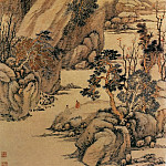 Chinese artists of the Middle Ages - Li Jan [黎简 - 江濑山光图]