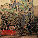 Chinese artists of the Middle Ages - Guan Xiu [贯休 - 十六罗汉图·阿氏多]