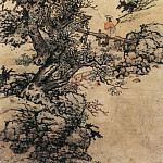 Chinese artists of the Middle Ages - Lan Ying [蓝瑛 - 山水图]