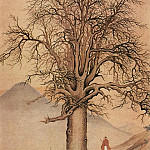 Chinese artists of the Middle Ages - Xiang Sheng Mo [项圣谟 - 大树风q-图]