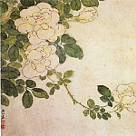 Chinese artists of the Middle Ages - Fan Qi [樊圻 - 月季图]
