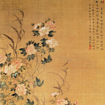Chinese artists of the Middle Ages - Wang Wu [王武 - 鸳鸯白鹭图]