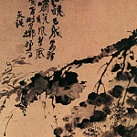Chinese artists of the Middle Ages - Xu Wei [徐渭 - 墨葡萄图]