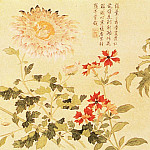 Chinese artists of the Middle Ages - Qian Weicheng [钱维城 - 九秋图]