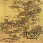 Chinese artists of the Middle Ages - Wang Yun [王晕 - 仿古四季山水图(之一)]