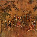 Chinese artists of the Middle Ages - Ruan Gao [阮郜 - 阆苑女仙图]