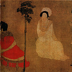 Chinese artists of the Middle Ages - Zhou Fang [周肪 - 调琴啜茗图]