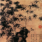 Chinese artists of the Middle Ages - Ni Zan [倪瓒 - 梧竹秀石图]