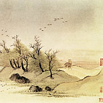 Chinese artists of the Middle Ages - Wang Yun [王晕 - 仿古山水图(之一二)]