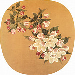 Chinese artists of the Middle Ages - Lin Chun [林椿 - 海棠图]