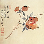 Chinese artists of the Middle Ages - Yang Jin [杨晋 - 花卉图(之—、二)]