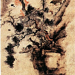 Chinese artists of the Middle Ages - Cha Shibiao [查士标 - 秋景山水图]