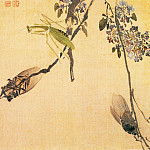 Chinese artists of the Middle Ages - Yuan Yao [袁耀 - 花卉图]
