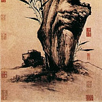 Chinese artists of the Middle Ages - Xia Gao [夏杲 - 修筠拳石图]