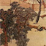 Chinese artists of the Middle Ages - Qian Du [钱杜 - 虞山草堂步月诗意图]